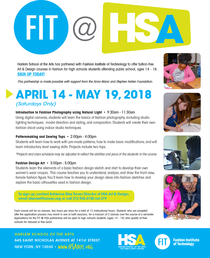Fit Hsa Harlem School Of The Arts