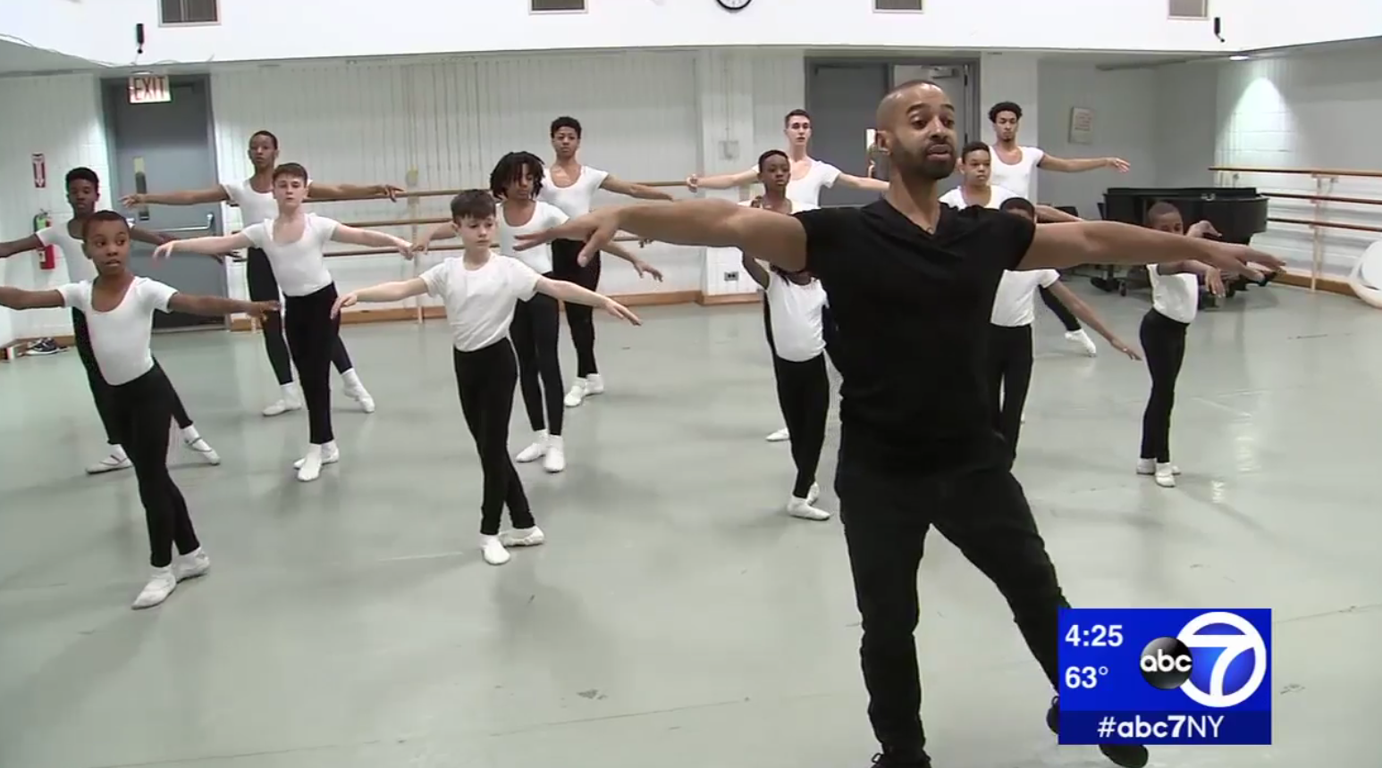 DANCING PROTEGEE HONORS LEGACY OF ALVIN AILEY