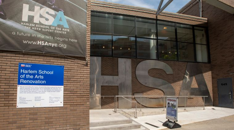 HARLEM SCHOOL OF THE ARTS PLANS ITS 'RENAISSANCE' WITH $9.5M FACE-LIFT