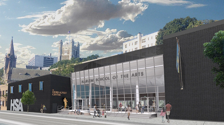 HARLEM SCHOOL OF THE ARTS AT THE HERB ALPERT CENTER READIES FOR A 9.5-MILLION DOLLAR REVITALIZATION PROJECT FUNDED BY THE HERB ALPERT FOUNDATION (APRIL 9, 2019) – CLICK ON THE IMAGE TO READ THE PRESS RELEASE