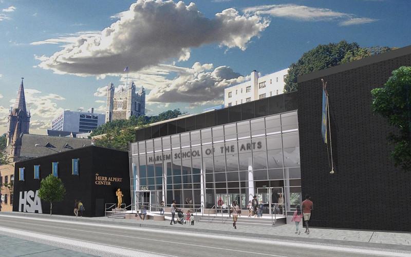 HARLEM SCHOOL OF THE ARTS ANNOUNCES $9.5 MILLION RENOVATION