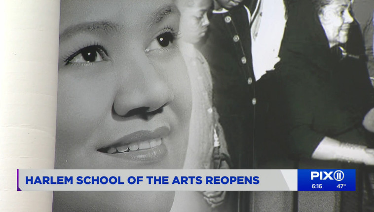 ICONIC HARLEM SCHOOL OF THE ARTS REOPENS AFTER PANDEMIC CLOSURE, RENOVATIONS